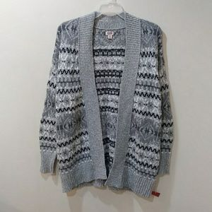 NWT. Mossimo supply co. patterned cardigan